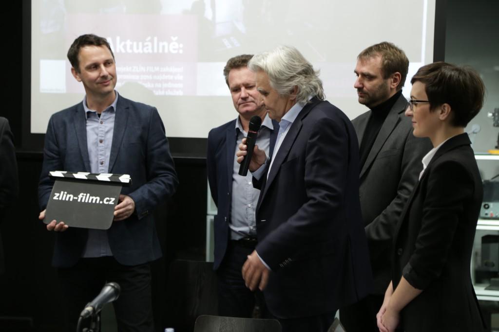 Zahájení projektu ZLÍN FILM - Čestmír Vančura